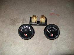 Ammeter (with shunt) and Voltmeter as purchased