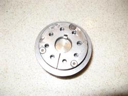 adapter hub after being machined true