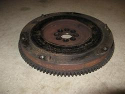 Toyota MR2 stock flywheel: 15lbs