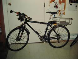 A later version of my commuter bike, based on a 1997 Trek 930